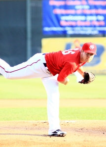 Holder finished 2012 with a 4-3 record and a 3.78 ERA for Harrisburg.