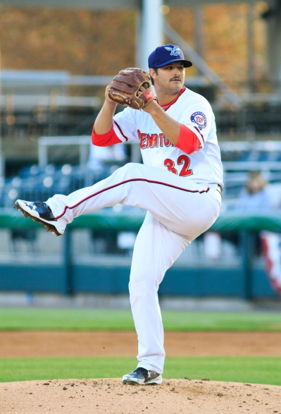 Tyler Mapes threw the Senators' first complete game shutout since Robbie Ray in 2013 (Will Bentzel / MiLB.com)