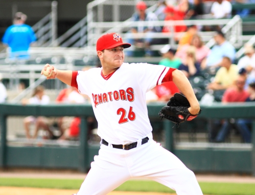 The Senators will square off against a familiar face tonight as Binghamton starts Tyler Herron (Will Bentzel / MiLB)